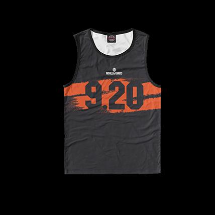 Футболки WOT 9.20 черно-оранжевые