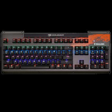 Клавиатура World of Tanks игровая Cougar Ultimus RGB