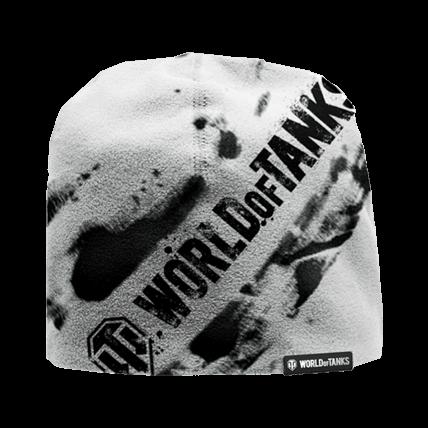 Шапка World Of Tanks белая