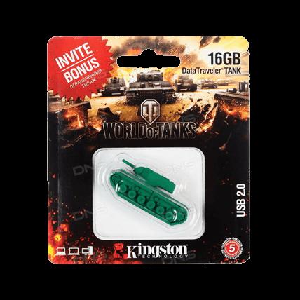 USB-накопитель Kingston DataTraveler TANK (16 Gb)