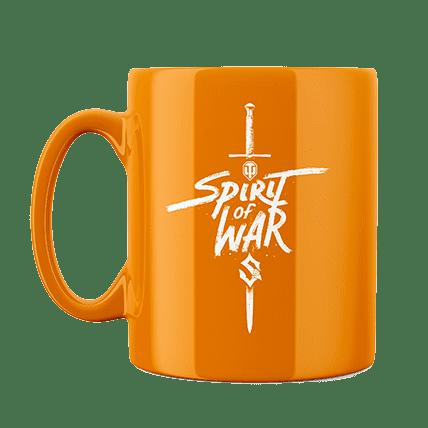 Кружка WoT Sabaton Sword оранжевая