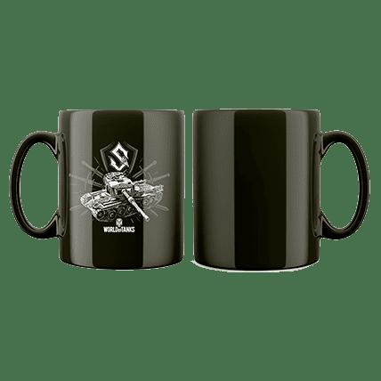 Кружка WoT Sabaton Tank logo черная