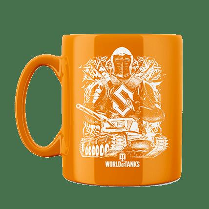 Кружка WoT Sabaton Knight оранжевая