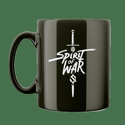 Кружка WoT Sabaton Sword черная