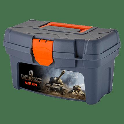 Ящик для инструментов World of Tanks, 32 х 19.6 х 18.8 см