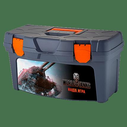 Ящик для инструментов World of Tanks, 48.5 х 26 х 25.8 см