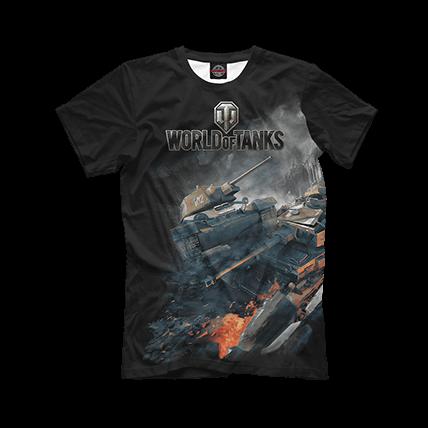 Еще больше футболок World of Tanks