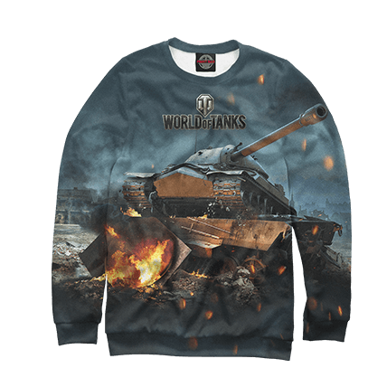 Еще больше толстовок World of Tanks