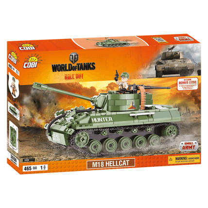 Конструктор M18 Hellcat World of Tanks