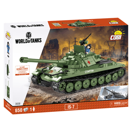 Конструктор ИС-7 World of Tanks