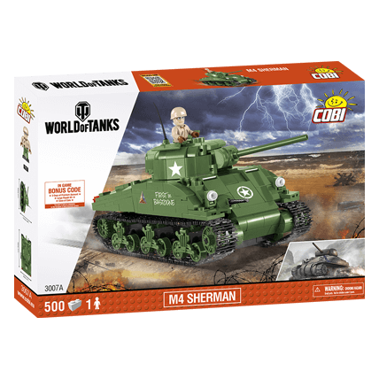 Конструктор M4 Sherman World of Tanks