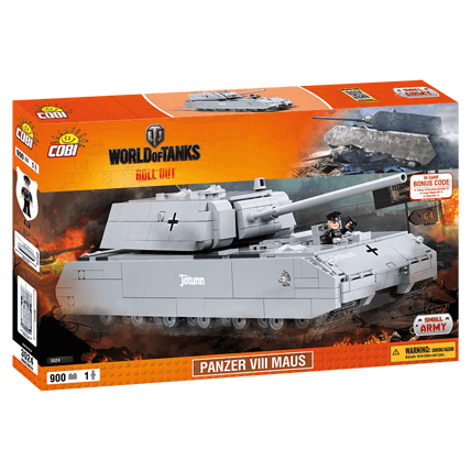 Конструктор Maus World of Tanks