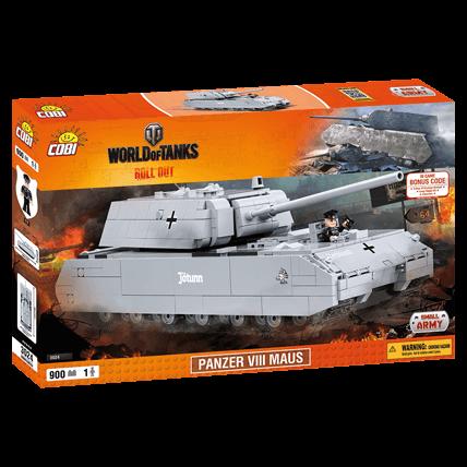 Конструктор Maus World of Tanks
