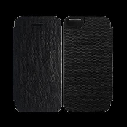 Чехол-книжка для iPhone 5/5S WoT (чёрный)