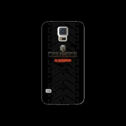 "Чехол Art Case и защитная пленка WOT ""Протектор"" для Samsung Galaxy S5, Deppa"