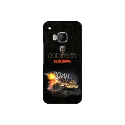 "Чехол Art Case и защитная пленка WOT ""Воин"" для HTC One M9, Deppa"