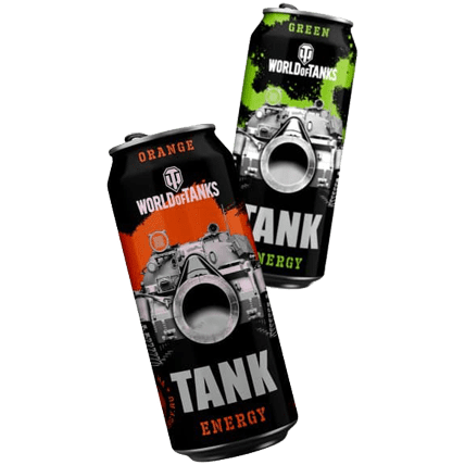 Энергетический напиток World of Tanks — TANK Energy