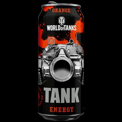 Энергетический напиток WOT TANK Energy ORANGE