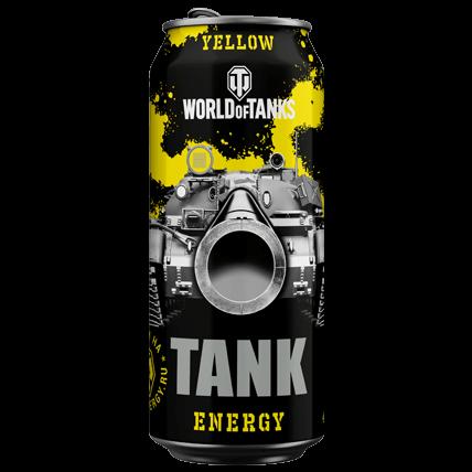 Энергетический напиток WOT TANK Energy YELLOW