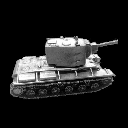 Танк КВ-2 без подставки (1:72)