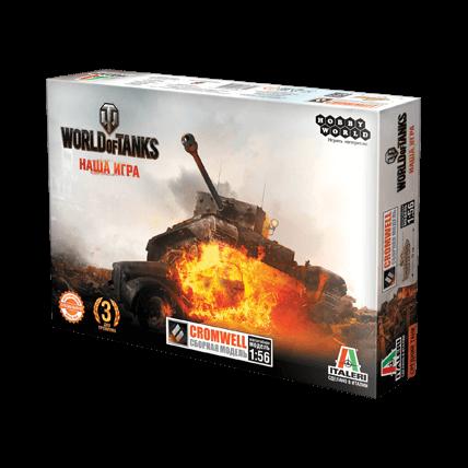 World of Tanks. Сборная модель танка Cromwell в масштабе 1:56