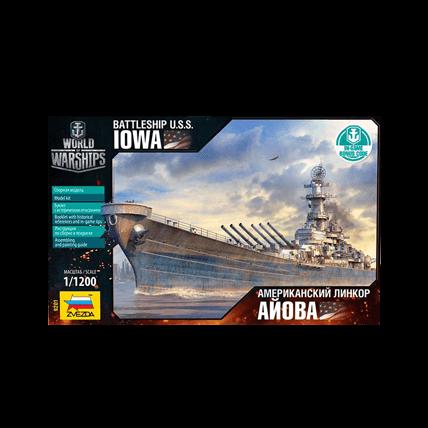 Американский линкор Айова (1:1200)