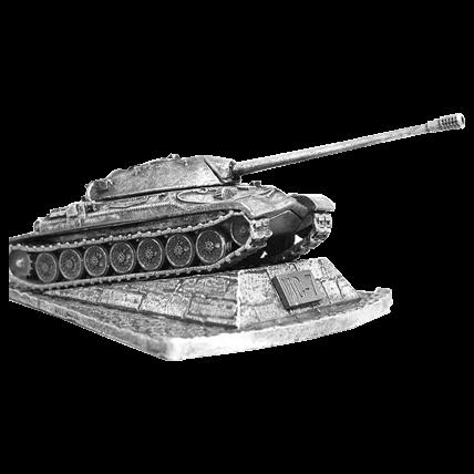 Танк ИС-7 с подставкой (1:100)