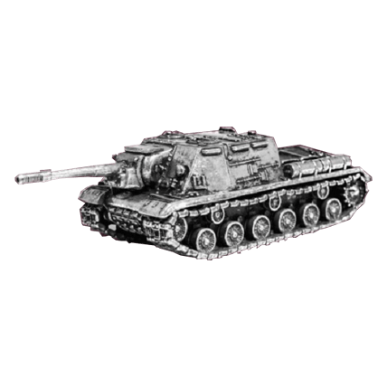 Танк ИСУ-152 без подставки (1:100)