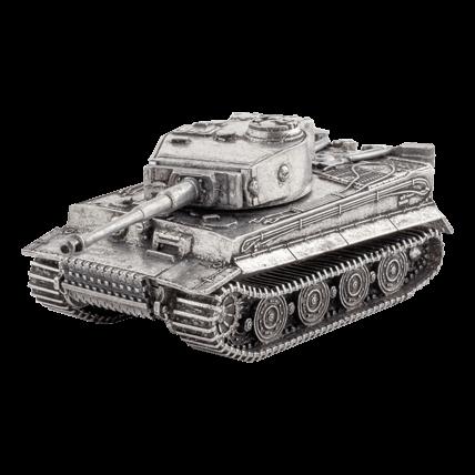 Танк Tiger I без подставки (1:100)
