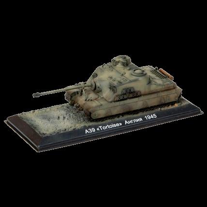 Танк A39 Tortoise с подставкой (1:72)