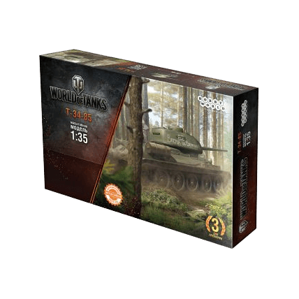 Танк Т-34-85, сборная модель (1:35) World of Tanks