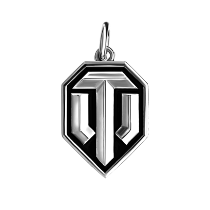 Кулон WoT лого 1