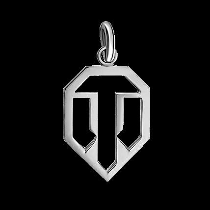 Кулон WoT лого 2
