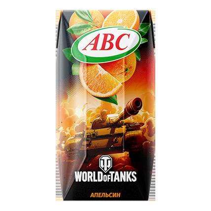 Нектар World of Tanks апельсиновый 0.2л