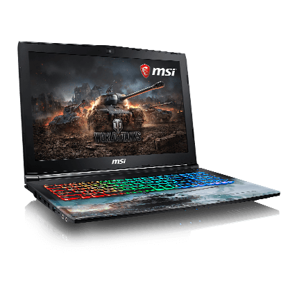 World of Tanks ноутбук MSI GP62M 7RDX(WOT Edition)-1277RU
