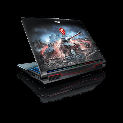 Игровой ноутбук WOT edition от MSI