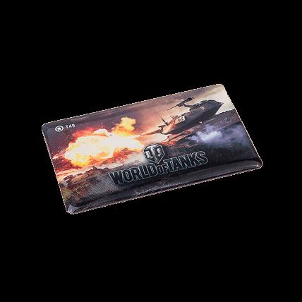 Магниты World of Tanks виниловые, набор №1 (5 штук)