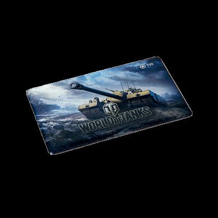 Магниты World of Tanks виниловые, набор №3 (5 штук)