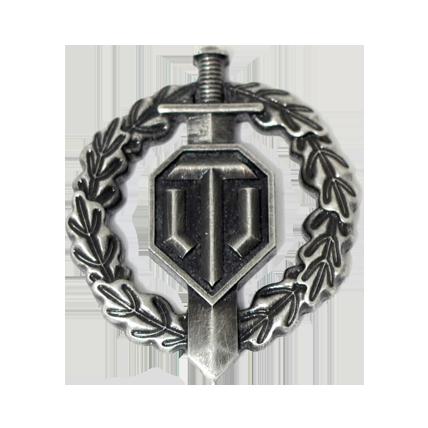 Магнит металлический «Воин»