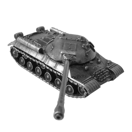 Танк ИС-3 без подставки (1:72)