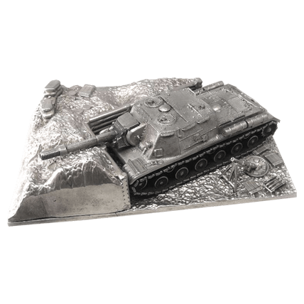 ПТ-САУ ИСУ-152 с подставкой (1:72) WoT