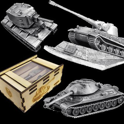 Металлические модели танков от HEAVYMETAL.TOYS