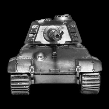 Танк TIGER II без подставки (1:72)