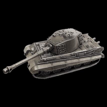 Танк TIGER II без подставки (1:100)