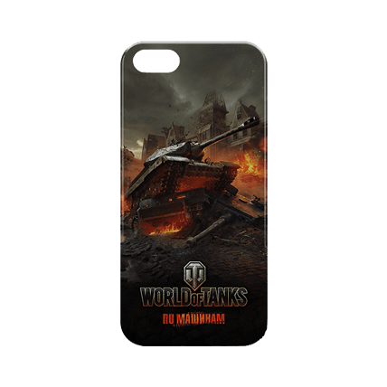 Чехол для iPhone 6/6S «Доминатор» World of Tanks