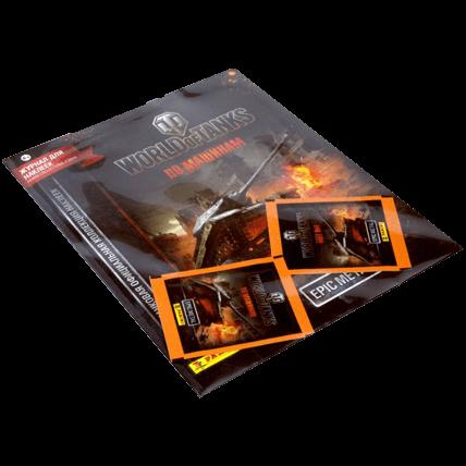 Блистер с наклейками и журналом World of Tanks