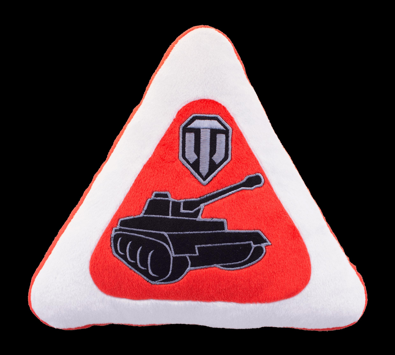 Декоративная подушка плюшевая «Автознак World of Tanks»