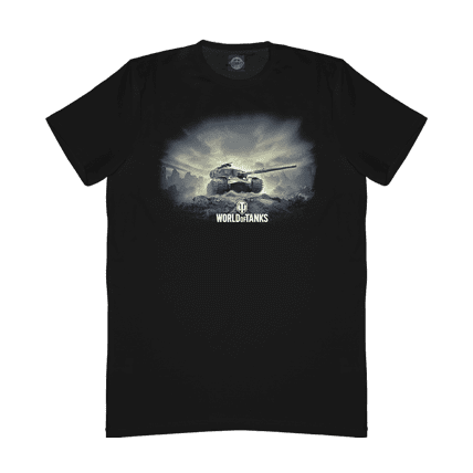 Хлопковая футболка World of Tanks STRV K