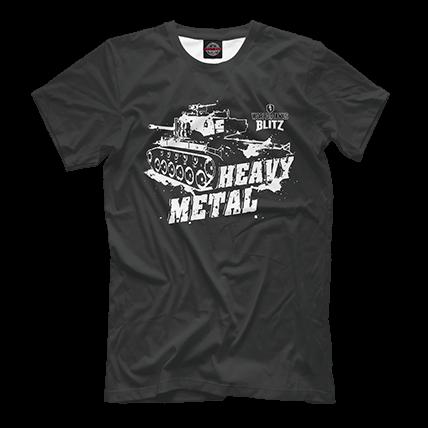Футболка WoT Blitz Heavy Metal