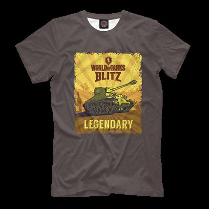 Футболка WoT Blitz Legendary Sheman